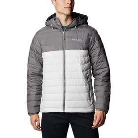 Columbia Powder Lite Kapuzenjacke Herren nimbus grey/city grey